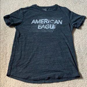 black american eagle t-shirt